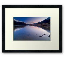 Mavora lakes 1 Framed Print
