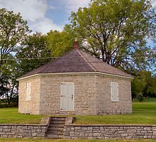 "Historic ""Eight-Cornered"" Octagonal Schoolhouse by Gene Walls"