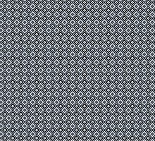 Abstract retro geometric black pattern seamless. by Sandytov