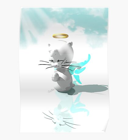 Prayer Pets - Kitten Poster