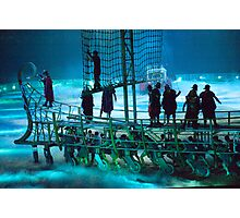 Boat in a Sea of Mist: Ben Hur Show: The Slave Galley Photographic Print