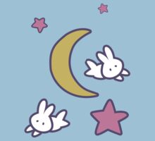Sailor Moon inspired Bunny of the Moon Bedspread Blanket Print Kids Clothes