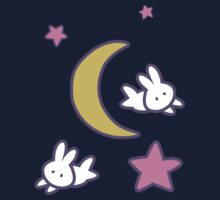 Sailor Moon inspired Bunny of the Moon Bedspread Blanket Print One Piece - Short Sleeve