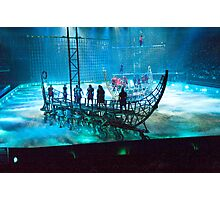 Ben Hur: Boats in the Mist. The Galley Slave-Ships. Photographic Print