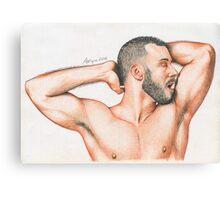 Naked Spaniard Canvas Print