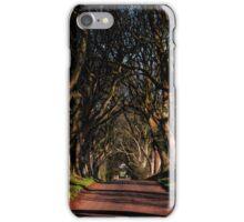 Dark Hedges Canopy iPhone Case/Skin