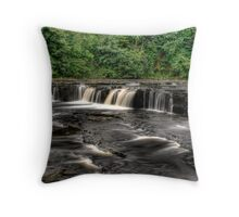 Upper Aysgarth Falls Throw Pillow