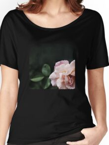 Graceful and Elegant Rose Women's Relaxed Fit T-Shirt