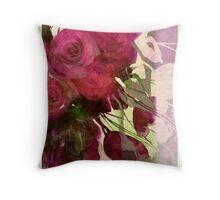 dusk roses Throw Pillow
