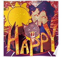 HAPPY! Cute Poster