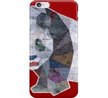 Panda Triangle Low Polygon iPhone Case/Skin