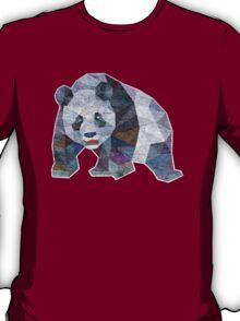 Panda Triangle Low Polygon T-Shirt