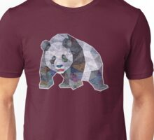 Panda Triangle Low Polygon Unisex T-Shirt