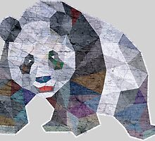 Panda Triangle Low Polygon by tsign703