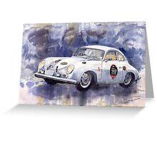 Porsche 356 Speedster Greeting Card