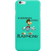 Everybody Loves Ray-mond Design iPhone Case/Skin