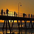 Sunset over Glenelg Jetty, Adelaide by SusanAdey