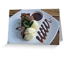 Rocky Road Cheesecake Greeting Card