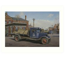 LNER Ford B type Art Print