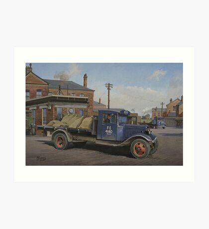 LNER Ford B type Art Print