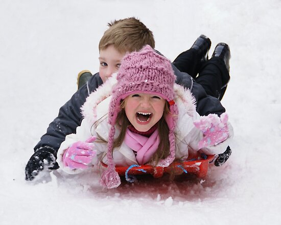 Sledging by riotphoto