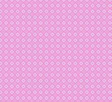 Abstract retro geometric  pink pattern seamless by Sandytov