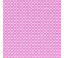 Abstract retro geometric  pink pattern seamless Photographic Print