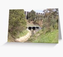 The Underpass Greeting Card