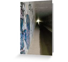 Under the Monash Freeway Greeting Card