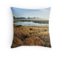 Knuckey Lagoons mist rising Throw Pillow