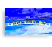Bridge Over Troubled Water- Art + products Design  Canvas Print