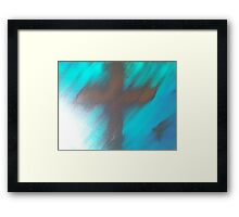 blury faith Framed Print