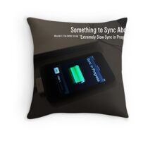 Little Frustration... Throw Pillow
