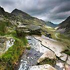 North Wales: Pass of Llanberis by Angie Latham