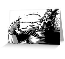 all might. Greeting Card