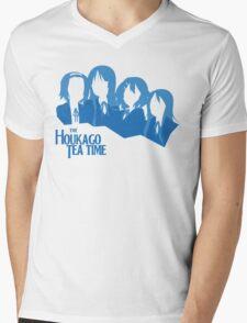 The Houkago Tea Time Mens V-Neck T-Shirt