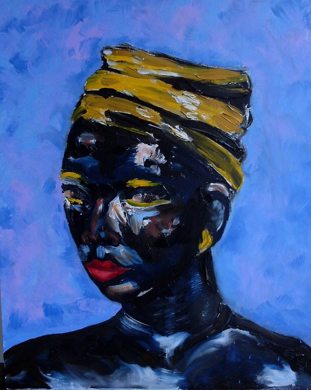 La Negresse by Christopher  Raggatt