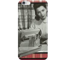 Everyday Artist Vintage Seamstress iPhone Case/Skin