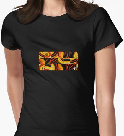 treefrogs are puzzling Womens Fitted T-Shirt
