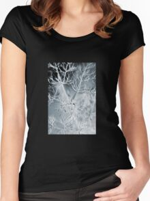 Within Reach of Dendrites Women's Fitted Scoop T-Shirt
