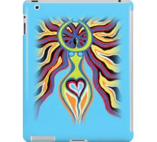 Goddess of the Moon - Abstract Art by Valentina Miletic iPad Case/Skin