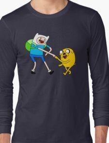 AAAAAADVENTURE TIME! Long Sleeve T-Shirt