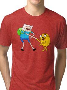 AAAAAADVENTURE TIME! Tri-blend T-Shirt