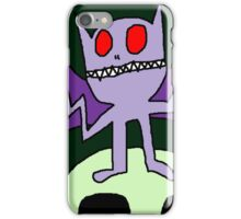 """Wacky Bat"" by Richard F. Yates iPhone Case/Skin"