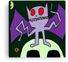 """""""Wacky Bat"""" by Richard F. Yates Canvas Print"""