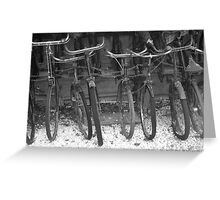 Bikes of WW2 Greeting Card