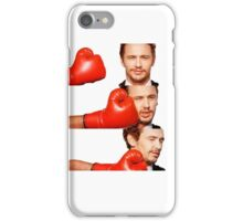 James Franco gets the humor knocked out of him iPhone Case/Skin