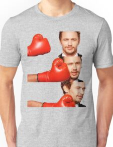 James Franco gets the humor knocked out of him Unisex T-Shirt