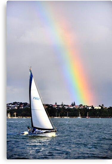 Sailing over the Rainbow by bryaniceman