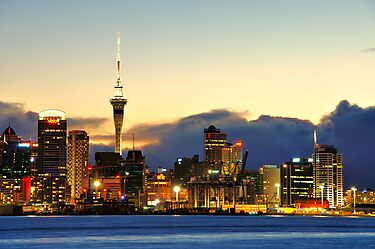 Auckland port by bryaniceman